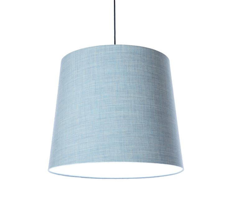 KongFAB acoustic textile pendant with Remix 2 from Kvadrat - light blue 823