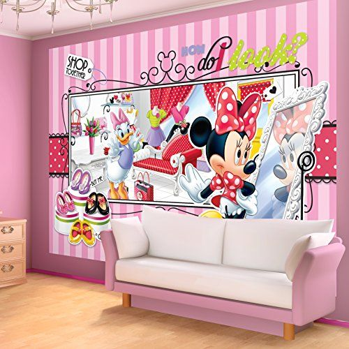 Disney Minnie Mouse and Daisy Duck Wallpaper Mural ** To view further for this item, visit the image link.