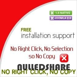 No Right Click, No Copy for Joomla 1.5 & 2.5 & 3.0 » Nulled Scripts, php, WSOs - NulledShare.com