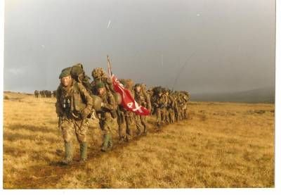 The Yompers - 45 Commando in the Falklands War