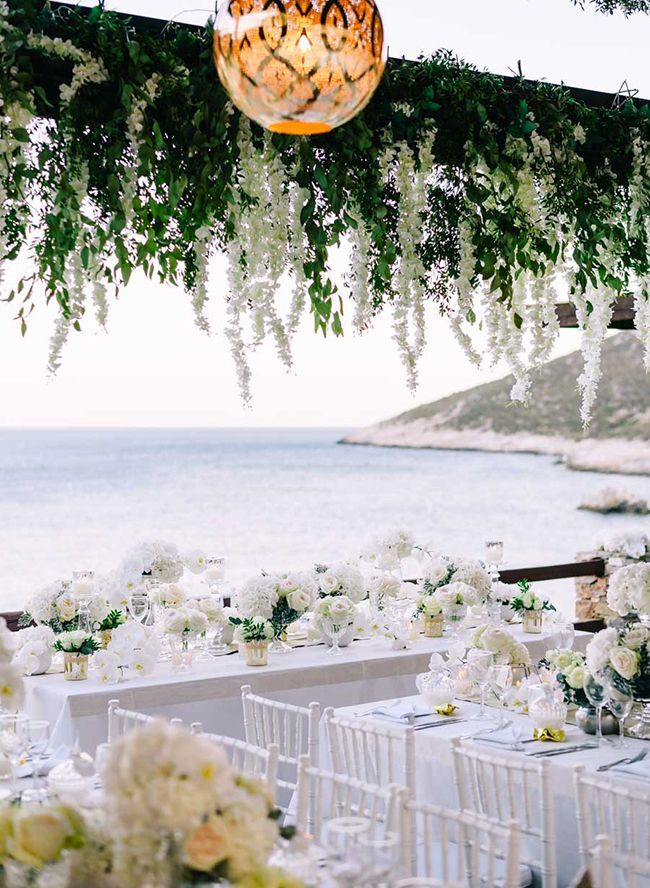 Picturesque White Wedding in Sifnos, Greece - Inspired By This