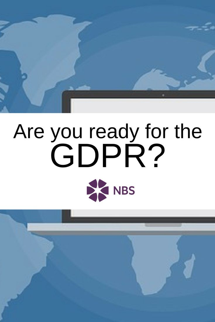 The new General Data Protection Regulation comes into force next year. #gdpr #data #dataprotection #security