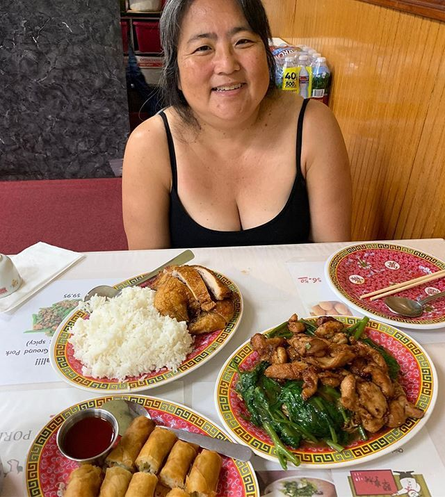 Chinese Food For Lunch At Jade Garden At Waipiocenter I Think We Ordered Too Much Lunch Cakenoodle Minutechicken Food Lunch Recipes Chinese Food