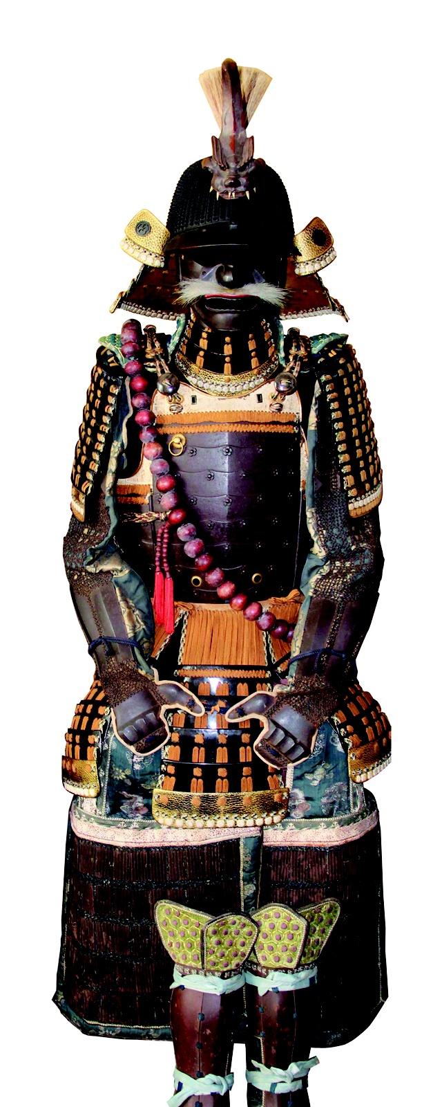 Armure samouraï.   Collection Richard Béliveau, photos : © Alain Lefort.