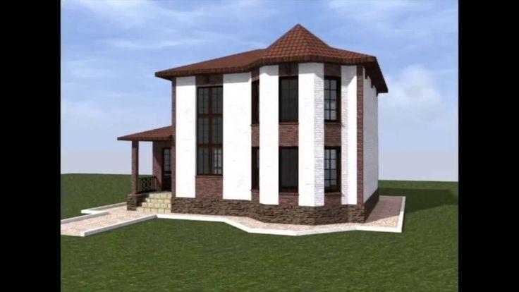 Строим дом. Проект небольшого двухэтажного дома.