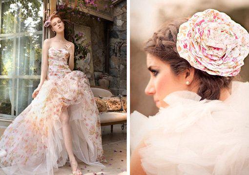 Vestidos de novia originales. http://casamenteras.com/