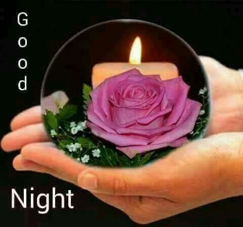 Good night sister and all, have a peaceful night, ❤.