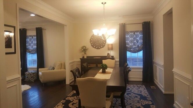 Ryan homes rome model formal dining room