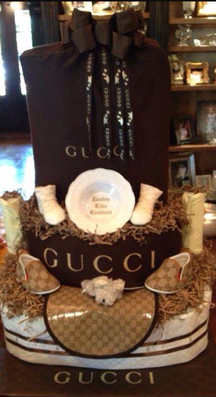 Gucci Diaper Cake Gucci Pinata Custom Made Party