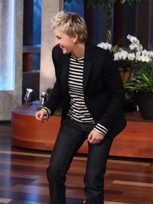"""""""Be who you really are. Embrace who you are. Accept who you are. Unless you're a serial killer."""" -Ellen"""