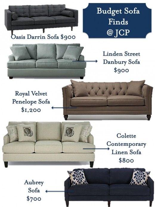 Budget Sofa Finds Via Effortless Style
