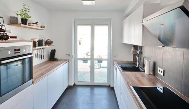 küche zweizeilig - google-suche   küche weiß holz, wohnung