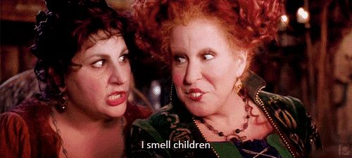 "When the Sanderson Sisters return from the grave, and Mary realizes that a virgin lit the candle. | 27 Magical Times ""Hocus Pocus"" Cast A Spell On You"