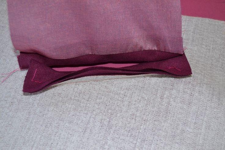 How to sew a welt pocket. Welt Pockets Tutorial - Step 10