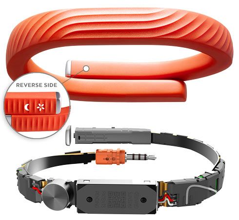 Третье поколение мегапопулярного браслета от Jawbone - Jawbone UP 24