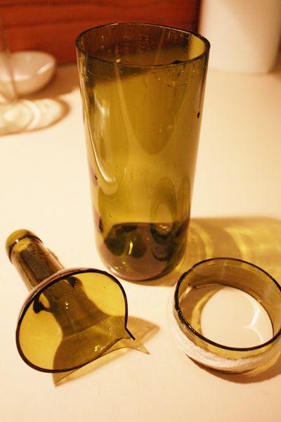 271 best images about wine bottle art ideas on pinterest for Glass bottle cutting ideas