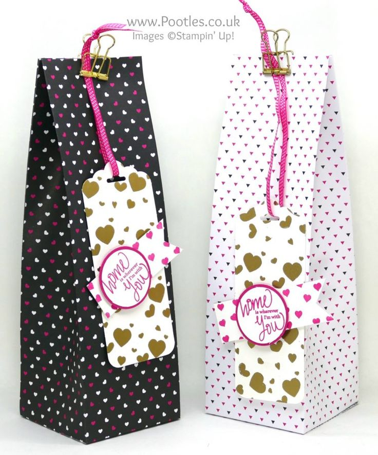 Stampin' Up! Demonstrator Pootles - Huge Pinch Close Bag using Pop of Pink.  Click through for more details and video tutorial