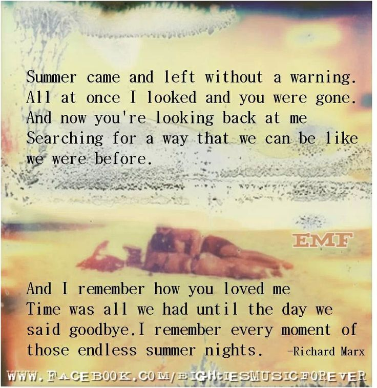 Endless Summer Nights - Richard Marx