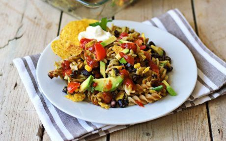 be healthy-page: Mexican Pasta Bake