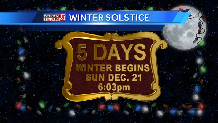 A reminder that winter begins in 5 days & it looks like we may have a potential snow storm to help kick it off! #WCVB Boston, MA
