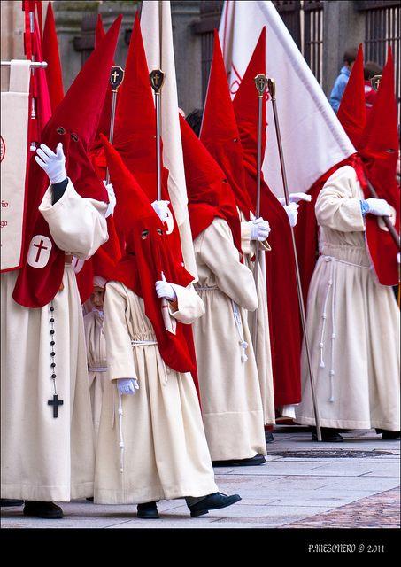 Semana Santa en Zamora  Real Hermandad del Santísimo Cristo de las Injurias,  Spain: Zamora Spain, Santa Spain, Travel Spain España, Spain Spain