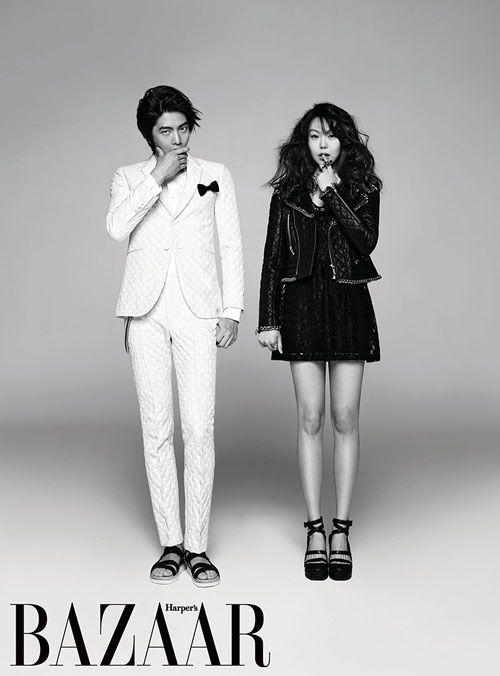 Lee Min Ki and Kim Min Hee Harper's Bazaar  Korea Magazine March 2013.