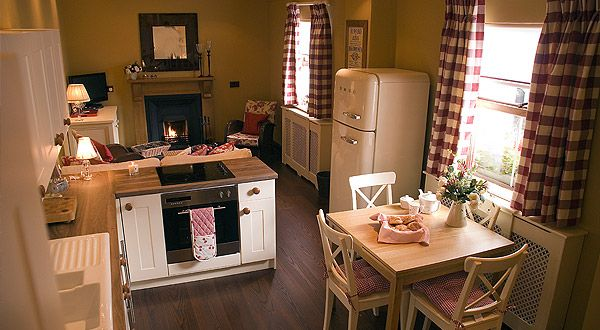 Ardara.  Tiny & cute, in a village.  Probably no laundry, not sure about internet.  2 people only and 1 bathroom.  Secret Cottage.