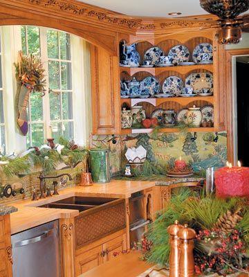 Copper Sink In The Artisan Kitchen