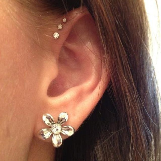 Different types of ear piercings names and many cute ear piercing ideas – Piercing ideas