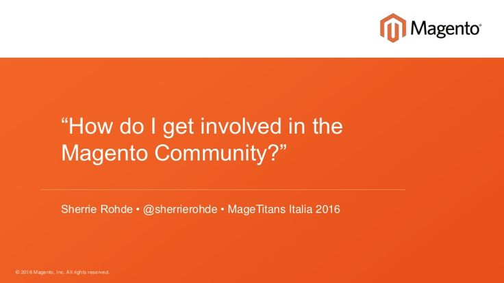 In 2015, the Magento Community gave over 500 talks, wrote three books, organized conferences and meetups in over 24 countries and wrote countless blog posts he…