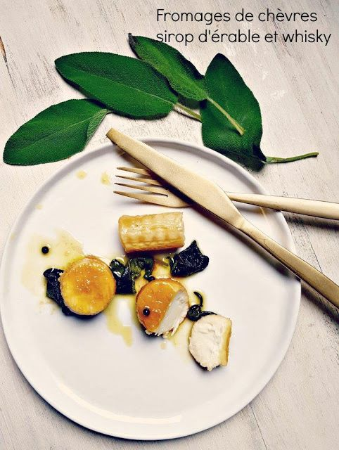 Very Easy...Kitchen: Chèvres secs marinés au sirop d'étable et au whisk...