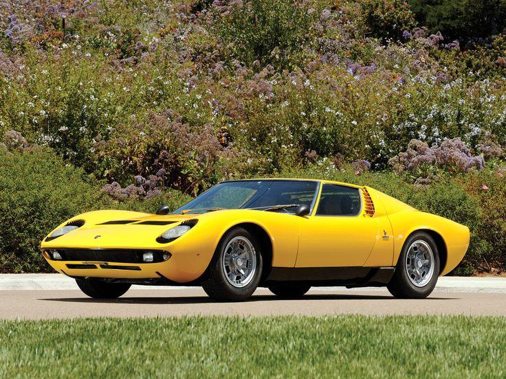 1966 #Lamborghini Miura (which, As It So Happens, Doesnu0027t Mean