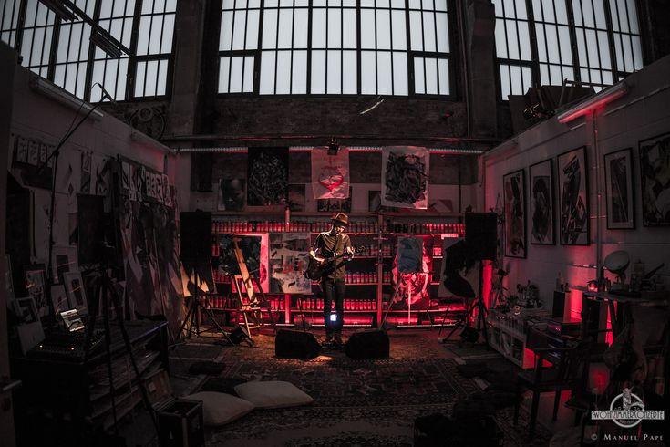 TOM KLOSE @ Wohnzimmerkonzerte Magdeburg Foto: Manuel Pape