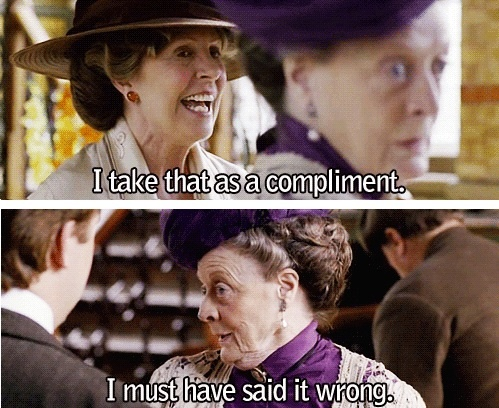 {downton abbey} violet crawley, dowager countess of grantham #downton #downtonabbey #dowagercountess