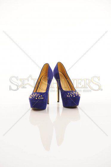 Pantofi Metal Reflect Blue
