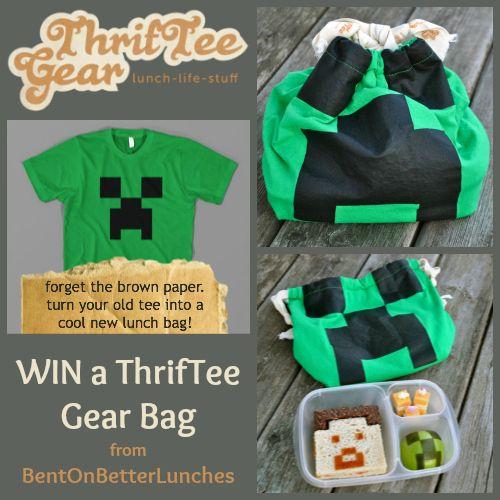 WIN a ThrifTee Gear bag from BentOnBetterLunches