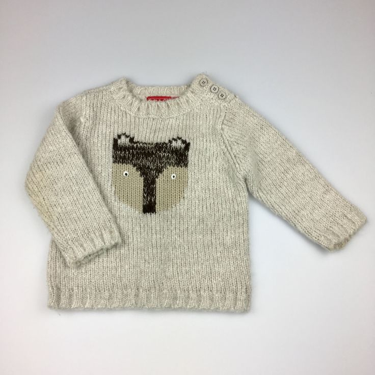 SPROUT, baby boy's knitted sweater / jumper, good pre-loved condition (GUC), size 0 (6-12 months), $8