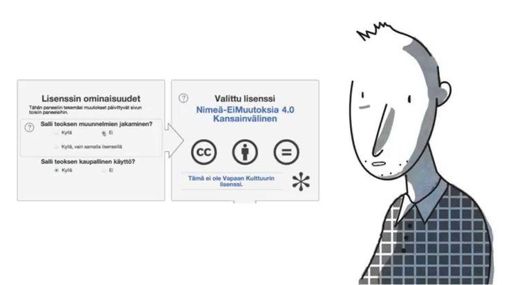 Näin lisäät CC-lisenssin aineistoosi @Tarmo Toikkanen, Creative Commons Finland