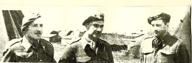 General S.Sosabowski z pozostałymi dowódcami brygady