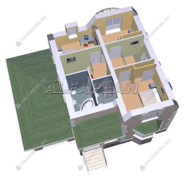 Проект 1-66 построить, строительство дома цена под ключ из газобетон или кирпич