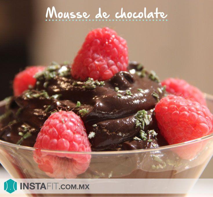 Receta postre de chocolate saludable.  Sin gluten y sin azúcar.