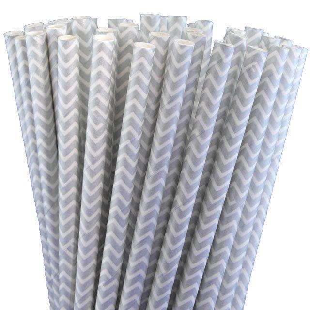 Greenmunch - Paper Straws - Silver Chevron, $4.50 (http://www.greenmunch.ca/paper-straws/standard-length/chevron/paper-straws-silver-chevron/)