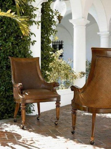 Thomasville Hemingway Chairs For Sale | Ernest Hemingway Leather Valencia  Club Chair Set Thomasville Furniture .