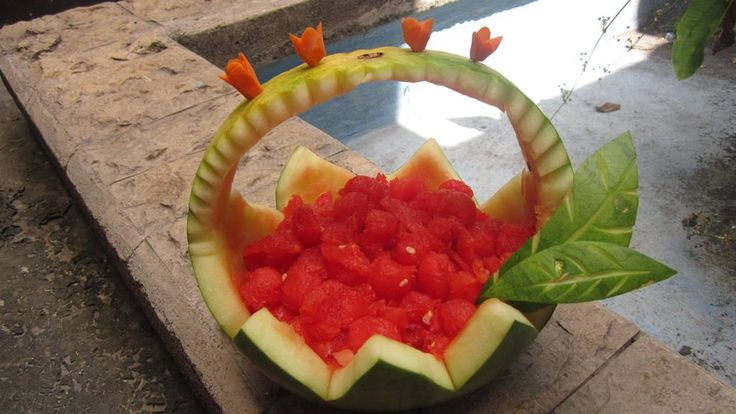 """Carving """"watermelon"""""""