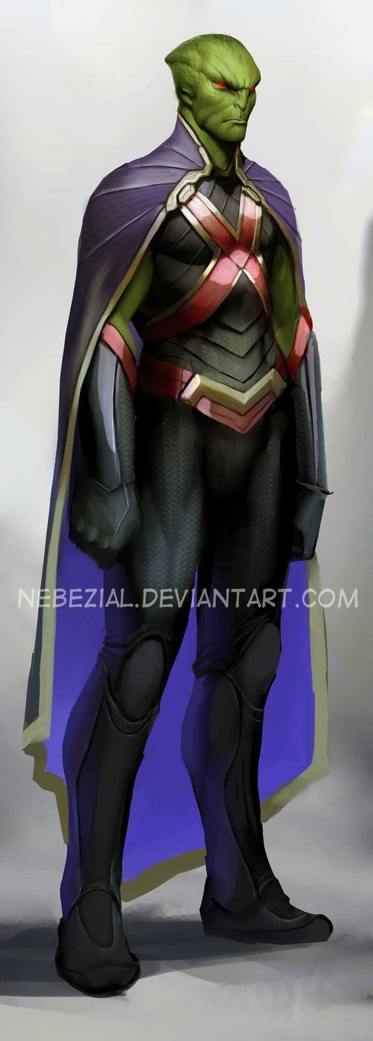 martian manhunter...i just love that name by nebezial on deviantART