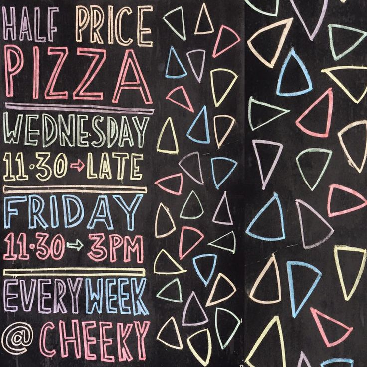 Half priced pizza all day Wednesday and Friday lunch at the Cheeky Sparrow!  Address: 317 Murray Street, Perth - entry from Wolf Lane.