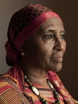 """ Meet Hawa Abdi. A woman who has never raised her fist in anger against another human being, but also one who could perform three C-sections on dirt-poor women, wash her hands, then go straight..."