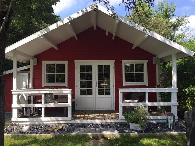 Amazing Aufgebaut Und Eingerichtet: Gartenhaus Toronto 44 Mit Schlafboden