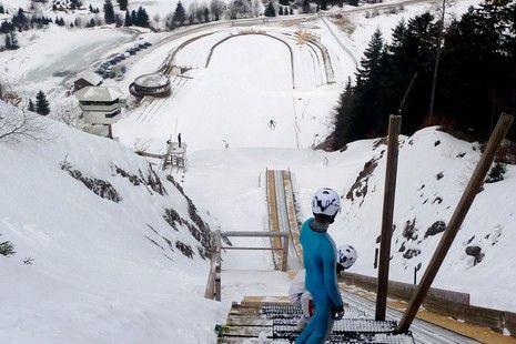 Combiné jurassien : Saut à ski, biathlon, chasse au GPS