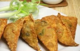 Samosa is a well-known appetizer in Nepal and India. It is made up of curried potato and peas filled into pastries which is deep fried u...